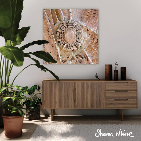 Sharon White Wall Art Canvas Trust Collection Heavenly