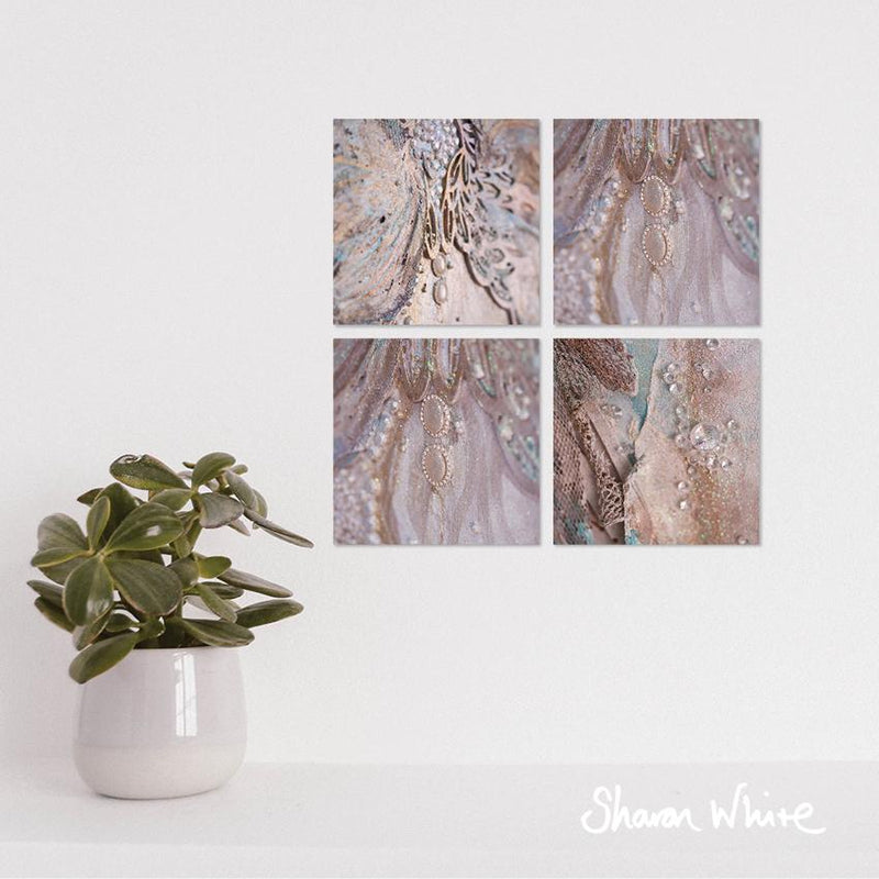 Sharon White Wall Art Canvas Trust Collection Together