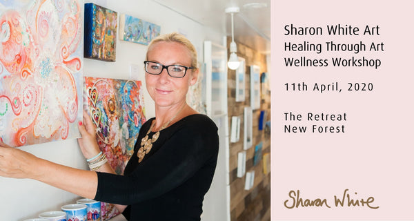 Art Therapy Wellness Sharon White Art Workshop