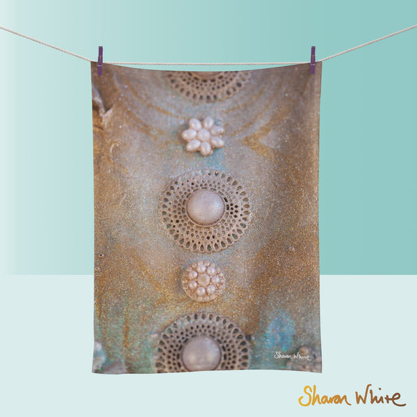 Tea Towels by Sharon White Art Ascension Chakra