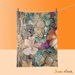 Tea Towels by Sharon White Art Renewal Cluster