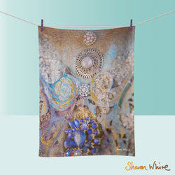 Tea Towels by Sharon White Art Ascension Jewels
