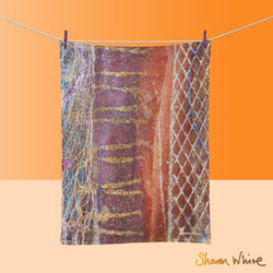 Tea Towels by Sharon White Art Renewal Dynamic Stripe