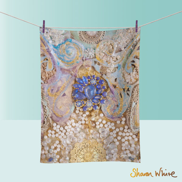 Tea Towels by Sharon White Art Ascension Timeless