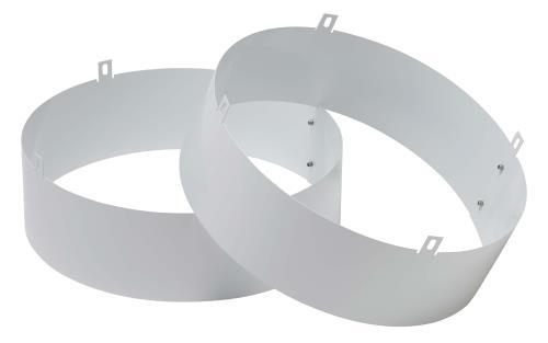 Quest Supply Air Duct Collar for Overhead Style Dehumidifier - 105, 155, 205, & 225 Only