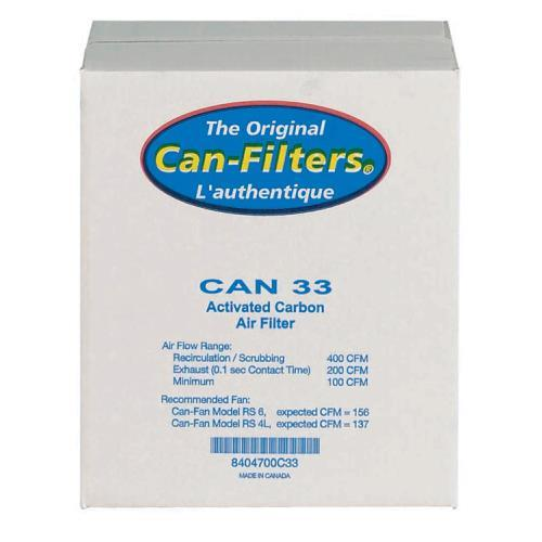 Can-Filter 33 w/ out Flange 200 CFM