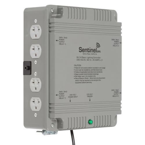 Sentinel GPS BLC-8 Basic Lighting Controller 8 Outlet