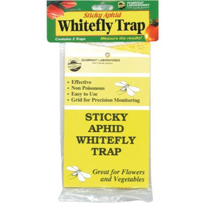 Sticky Whitefly Trap 3/Pack (1 = 24/)