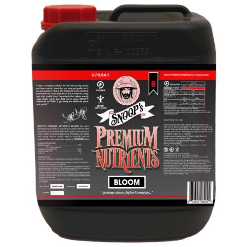 Snoop's Premium Nutrients Bloom B Circulating 5 Liter (Hydro Recirculating)