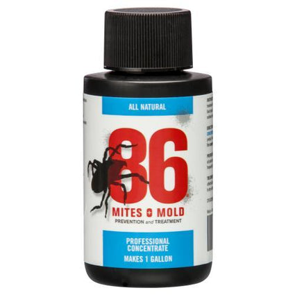 86 Mites and Mold 2 oz Mini Concentrate (Makes 1 Gallon)