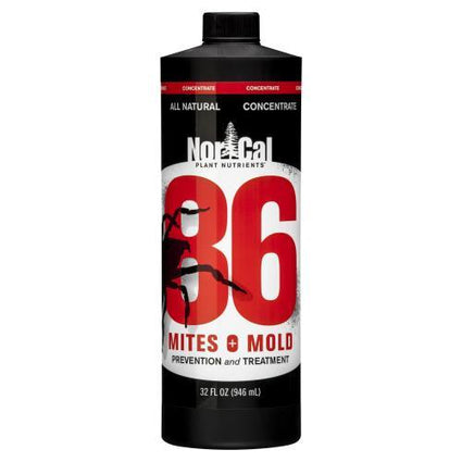 86 Mites and Mold 32 oz Concentrate (Makes 5 Quarts)
