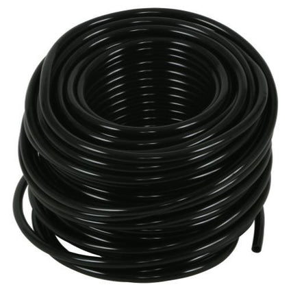 Hydro Flow Vinyl Tubing Black 3/16 in ID - 1/4 in OD 100 ft Roll