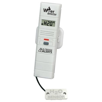 La Crosse Add-on Temperature & Humidity Sensor w/ 6 ft Water Detection Sensor