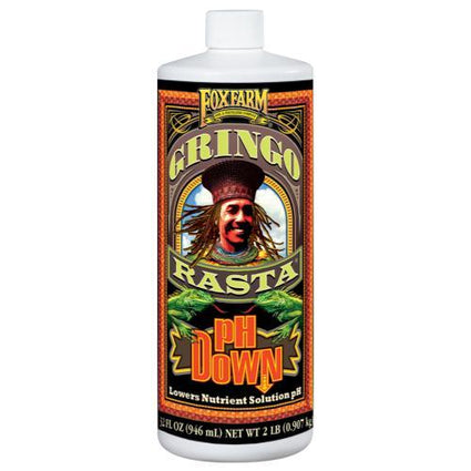 FoxFarm Gringo Rasta pH Down Quart