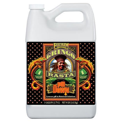 FoxFarm Gringo Rasta pH Down Gallon