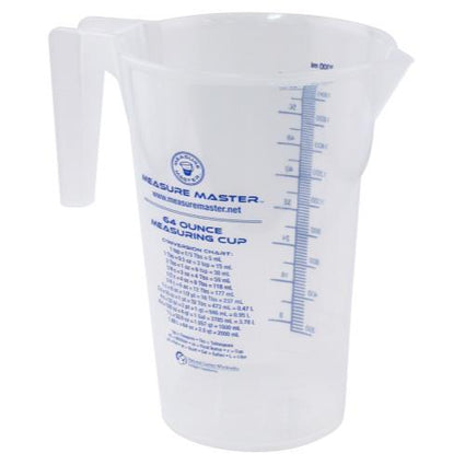 Measure Master Graduated Round Container 64 oz / 2000 ml