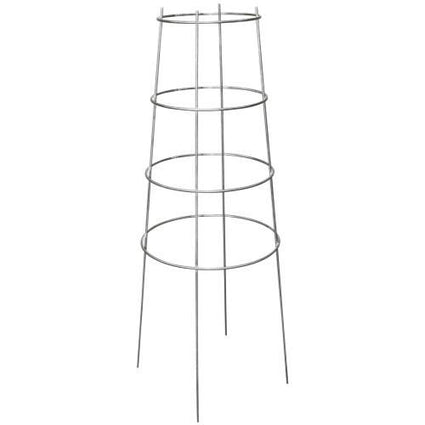 Grower's Edge High Stakes Commercial Grade Inverted Tomato Cage - 4 Ring - 44 in