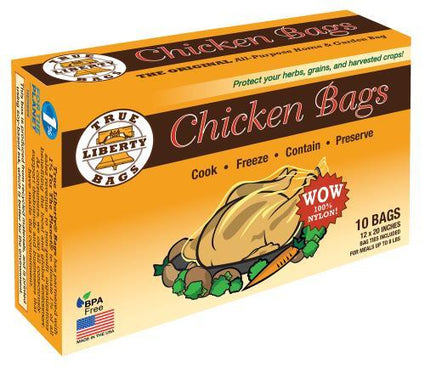 True Liberty Chicken Bags 12 in x 20 in (10/Pack)