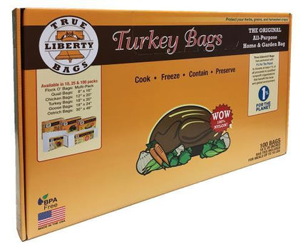 True Liberty Turkey Bags 18 in x 20 in (100/Pack)