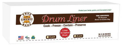 True Liberty 55 Gallon Drum Liners 36 in x 48 in (10/Pack)