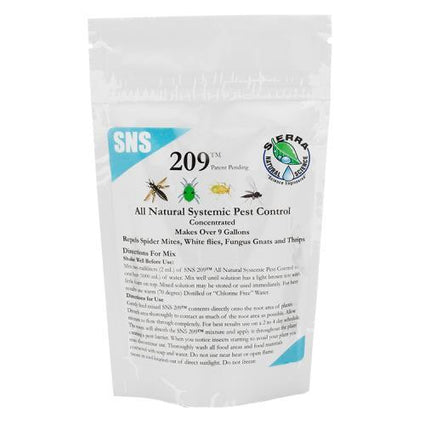 SNS 209 Systemic Pest Control Conc. 2.5 oz Pouch
