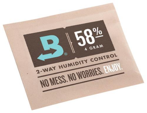 Boveda 4g 2-Way Humidity 58% (600/Pack)