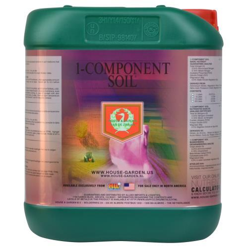 House and Garden 1-Component Soil 5 Liter