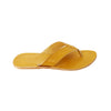 Modest Yellow Kolhapuri Leather Slipper for Men KRKA-P-M-163
