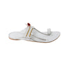 Premium Quality Kapshi White Kolhapuri Leather Chappal for Men KRKA-P-M-171