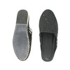 Premium Quality Fabulous Black Kolhapuri  Half Leather Shoe for Women KRKA-P-W-190