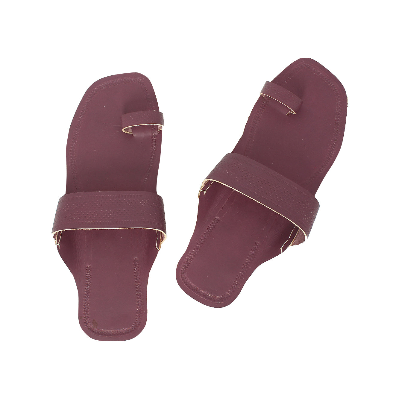 Modest Purple  Kolhapuri Leather Chappal for Women KRKA-P-W-204