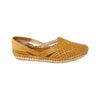 Premium Quality Dark Yellow Handmade Kolhapuri  Full Leather Shoe for Women KRKA-P-W-260