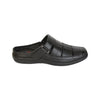 Wisely Handcrafted Black Leather Open Comfort Sandal for Men KRKA-S-025