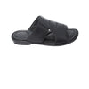 Formal Handmade Black Leather Gents Chappal KRKA-S-045