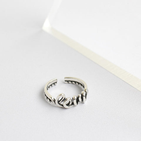 Love resizable ring