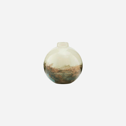 House Doctor Vase, Earth, Beige/Metallic - NordlyHome.dk