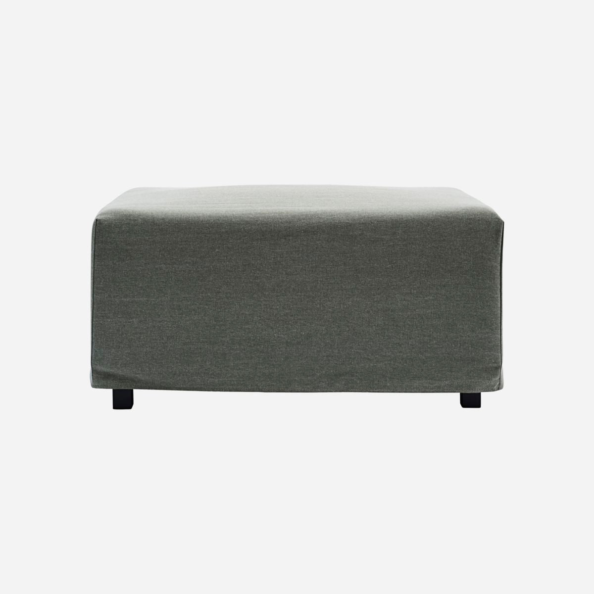 Cover to pouf, Cove, Green/Grey