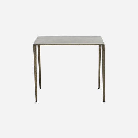 House doctor Side table, Ranchi, Nickel - NordlyHome.dk