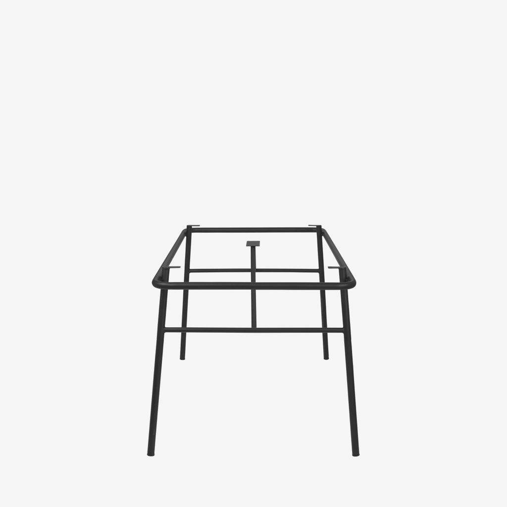 Image of   DC TABLE FRAME 'MOON' STEEL