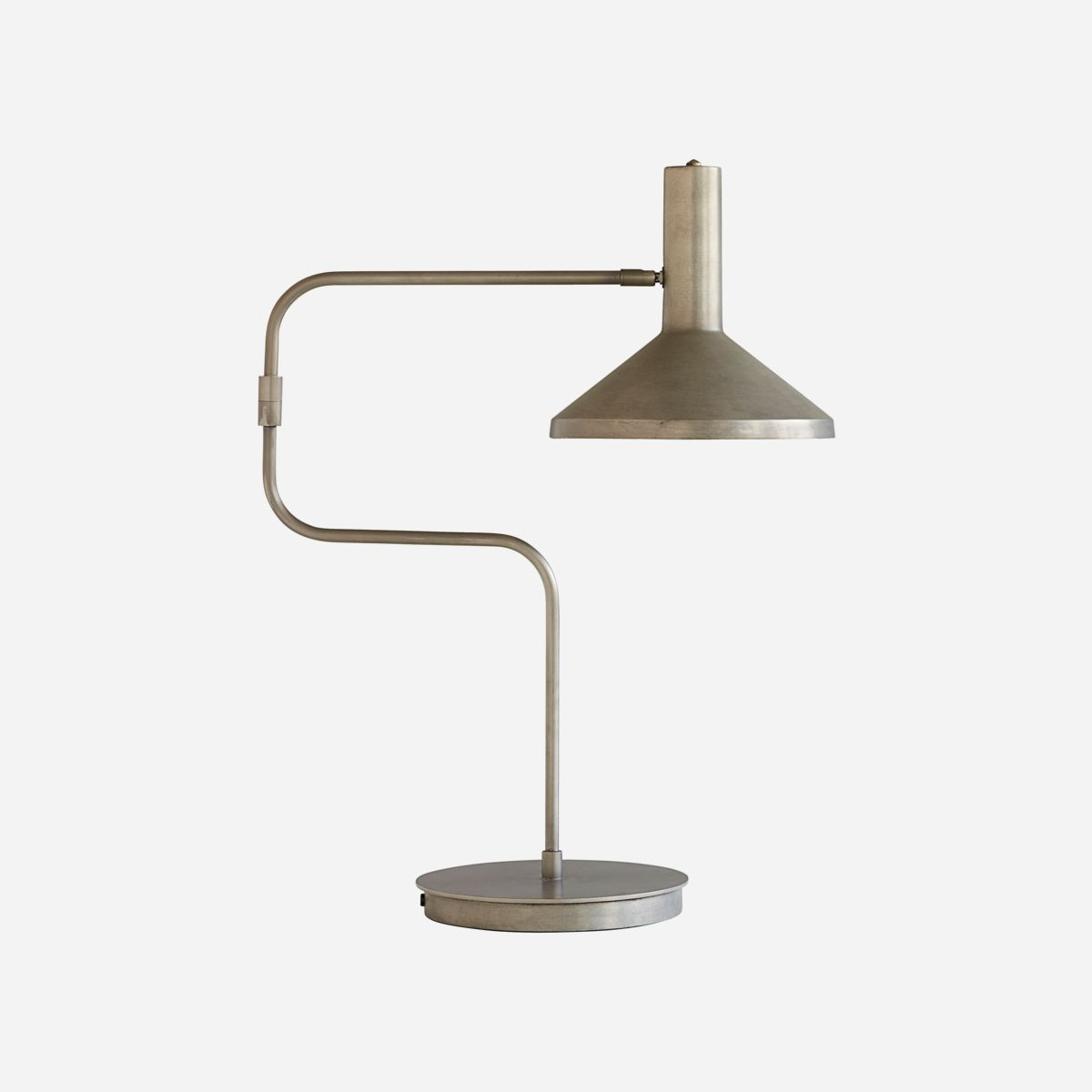 Image of   Bordlampe, Gunmetal