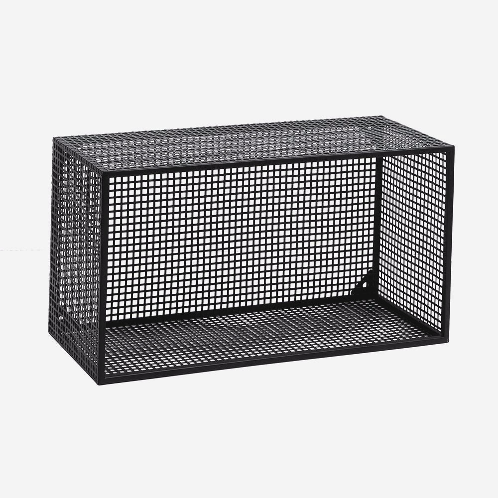 nordal Wire box for wall, black, l på nordlyhome.dk