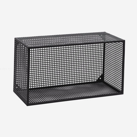 Nordal WIRE box for wall, black, L - NordlyHome.dk