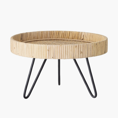 Creative Collection Piedestal, Natur, Rattan - NordlyHome.dk