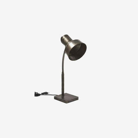 Bordlampe - cool fabrikslook
