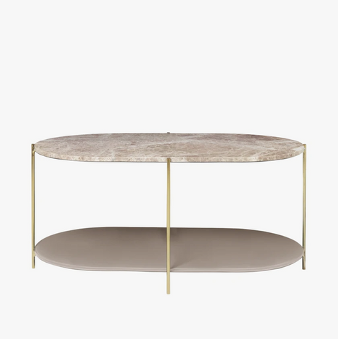 Cozy Living Siff Oval Marble Table-CARA - NordlyHome.dk