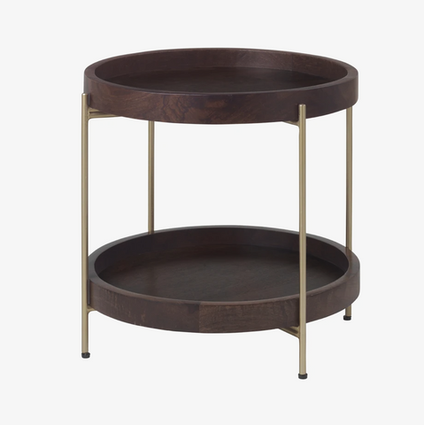 Cozy Living Saga Side Table - Mango - NordlyHome.dk