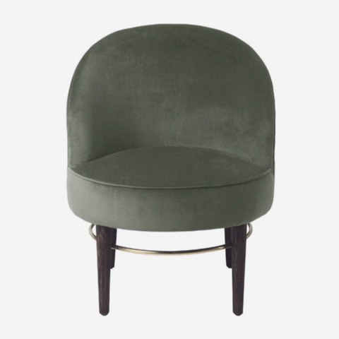 Cozy Living Club Lounge Chair - ARMY - NordlyHome.dk