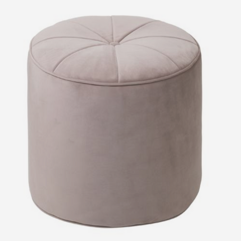 Cozy Living Marocco Pouf - S - OLD ROSE - NordlyHome.dk