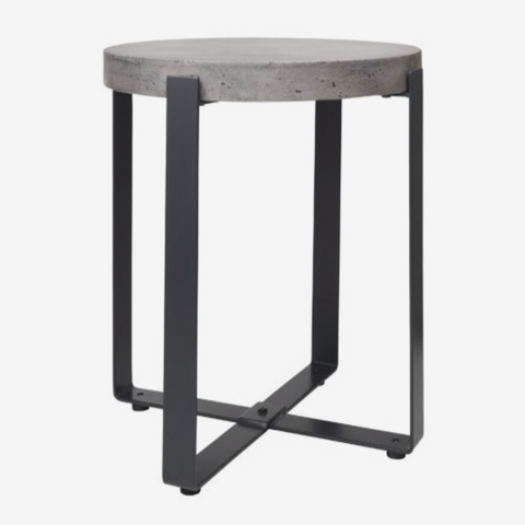 Cozy Living Concrete Side table - Round - Tall - NordlyHome.dk