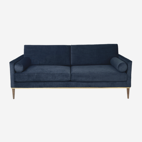 Club Couch - Velvet - NAVY